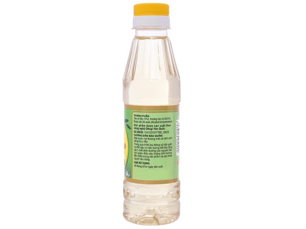 Giấm táo Ottogi chai 250ml 2