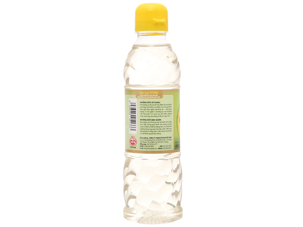 Giấm gạo Ottogi chai 450ml 2