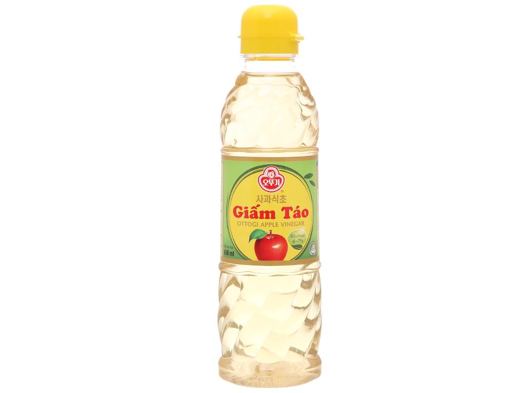 Giấm táo Ottogi chai 450ml 1