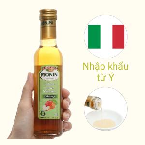 Giấm táo Monini chai 250ml