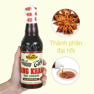 Giấm tiều Long Khang A Tuấn Khang chai 500ml