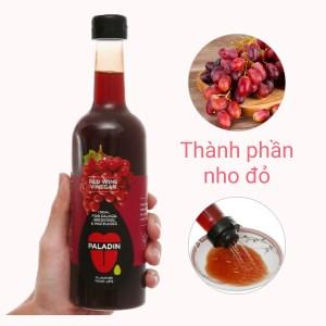 Giấm nho đỏ Paladin Eufood chai 500ml