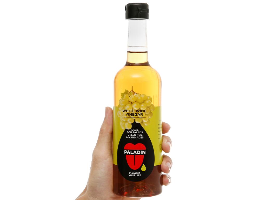 Giấm nho trắng Paladin Eufood chai 500ml 4