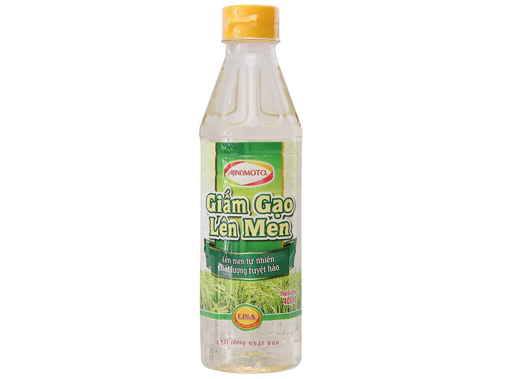 Giấm gạo lên men Ajinomoto chai 400ml 1