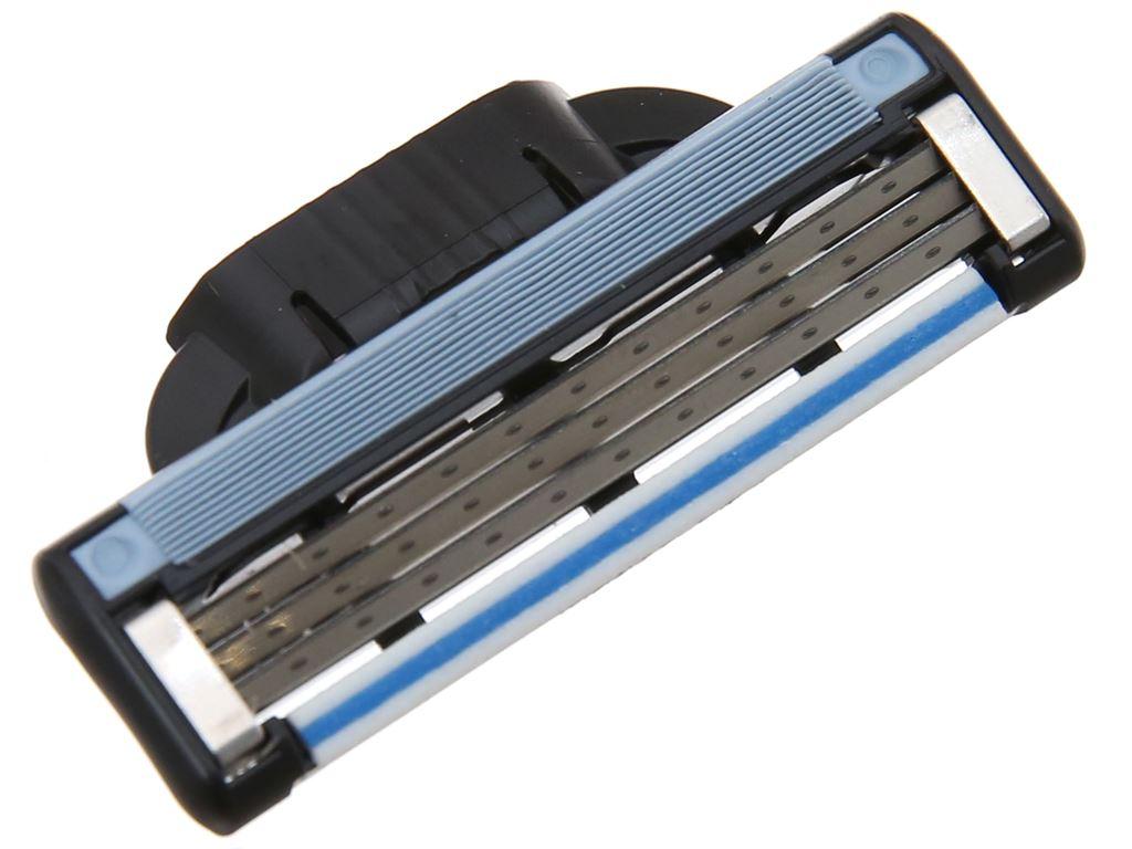 Bộ 2 cái lưỡi dao cạo râu 3 lưỡi Gillette Mach 3 5
