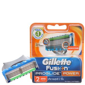 2 cái lưỡi dao cạo râu 5 lưỡi Gillette Fusion