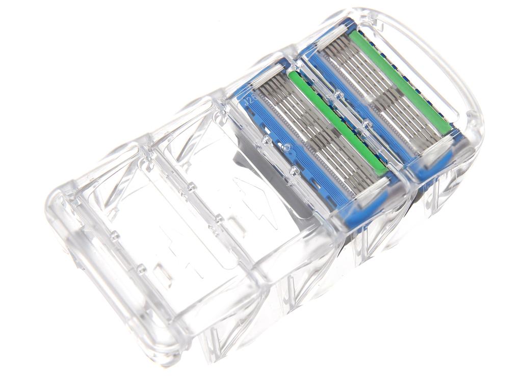 Vỉ 2 cái lưỡi dao cạo râu 5 lưỡi Gillette Fusion Proglide Power 4