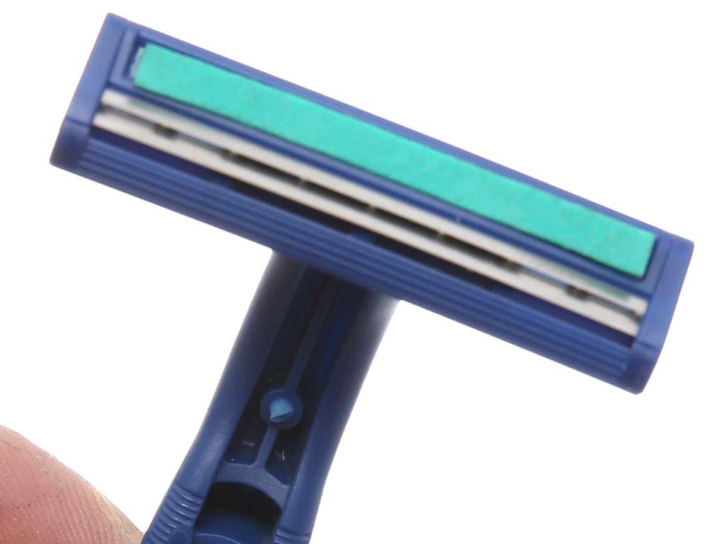 Dao cạo râu 2 lưỡi Gillette Blue II Plus 4
