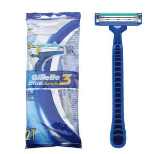 2 cây dao cạo râu 3 lưỡi Gillette Blue Simple 3