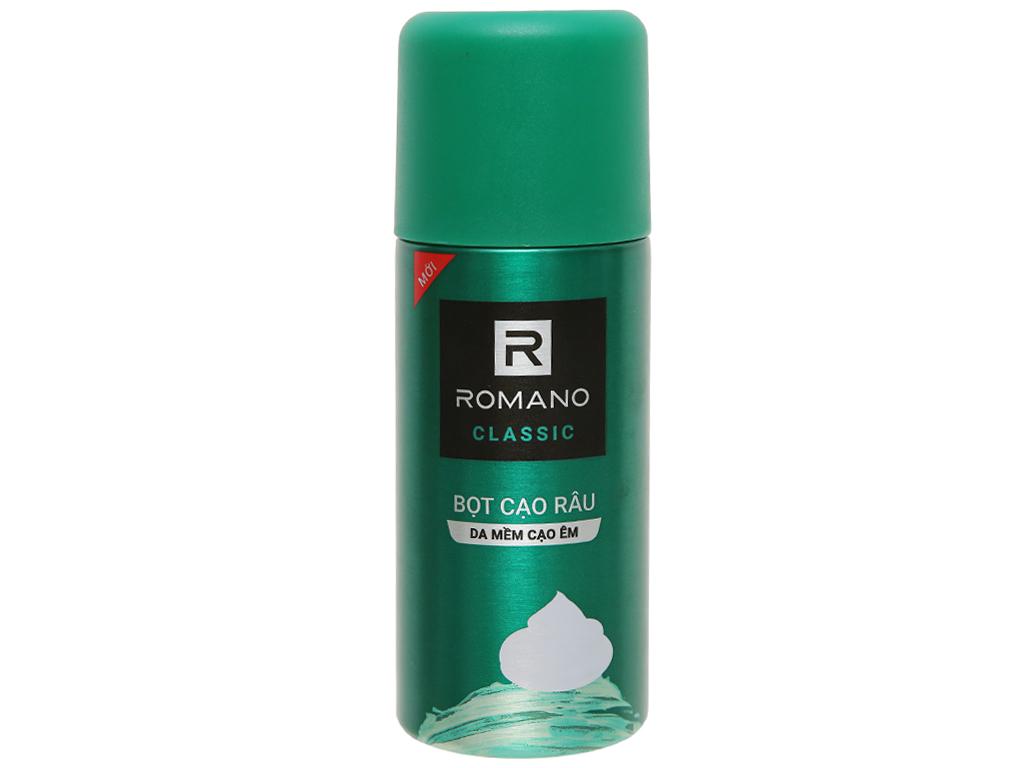 Bọt cạo râu Romano Classic 175ml 4