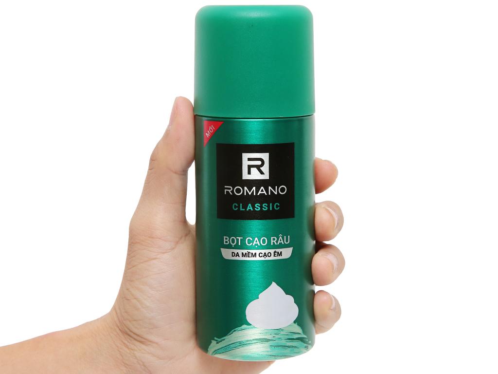 Bọt cạo râu Romano Classic 175ml 7