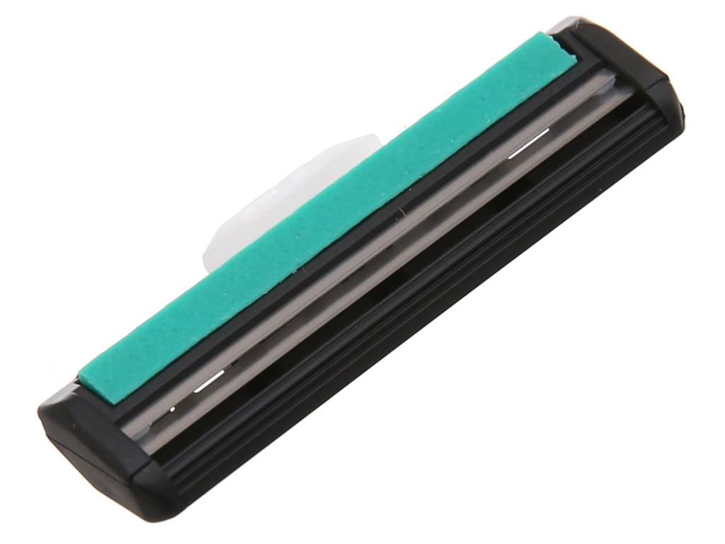 Vỉ 2 lưỡi dao cạo râu lưỡi kép Gillette Vector 4