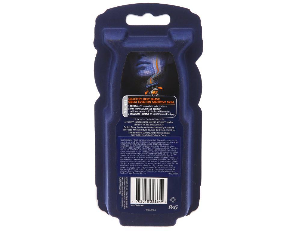 Dao cạo râu 5 lưỡi Gillette Fusion 5 2