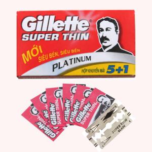 Bộ 5 cái lưỡi lam Gillette Super Thin