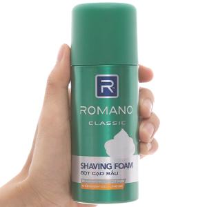 Bọt cạo râu Romano hương nam tính 175ml