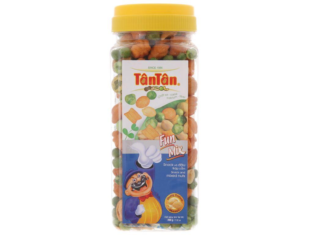Snack và đậu thập cẩm Fun Mix Tân Tân hộp 200g 1