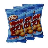 Combo 3 bịch đậu phộng da cá Poca Nutz vị Nước Cốt Dừa 42g