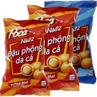 Combo 3 bịch đậu phộng Poca Nutz phô mai (42g+45g) và nước cốt dừa (45g)