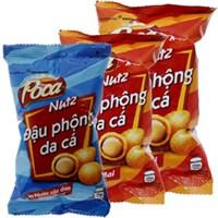 Combo 3 bịch đậu phộng Poca Nutz phô mai (42g+45g) và nước cốt dừa (42g)