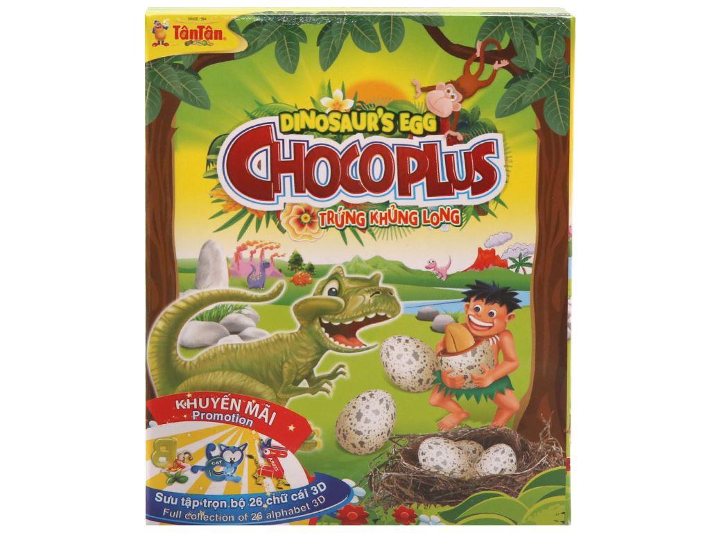 Đậu phộng trứng khủng long Chocoplus Tân Tân hộp 38g 1