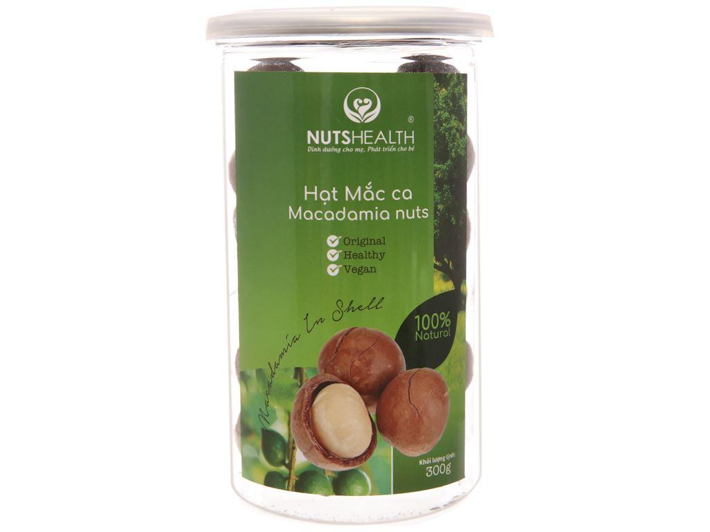 Hạt mắc ca Nutshealth hũ 300g 1