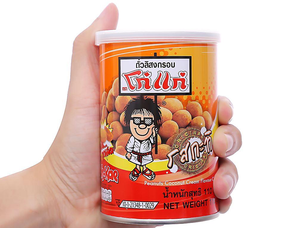 Đậu phộng vị kem dừa Koh-Kae lon 110g 3