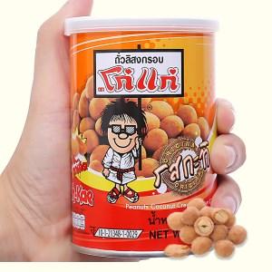 Đậu phộng vị kem dừa Koh-Kae lon 110g