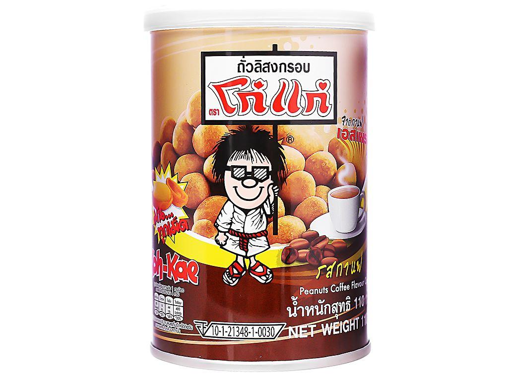 Đậu phộng vị cà phê Koh-Kae lon 110g 1