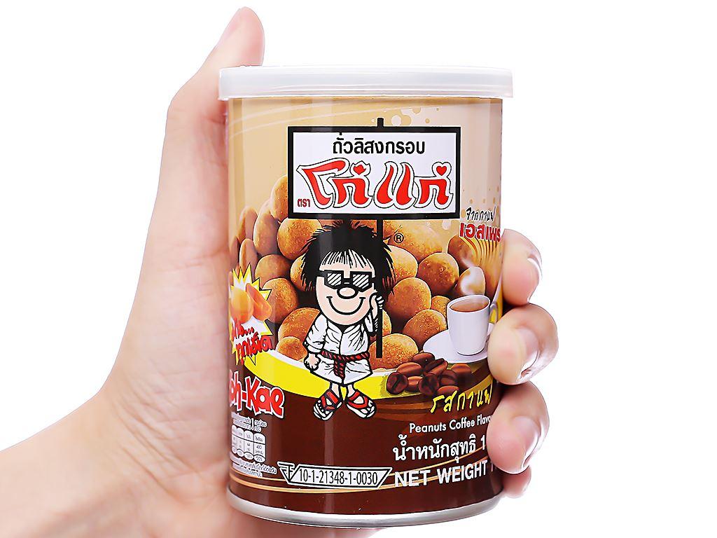 Đậu phộng vị cà phê Koh-Kae lon 110g 3