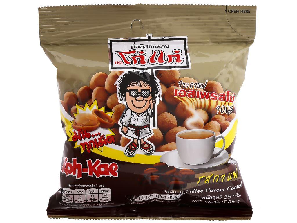 Đậu phộng vị cà phê Koh-Kae gói 35g 1