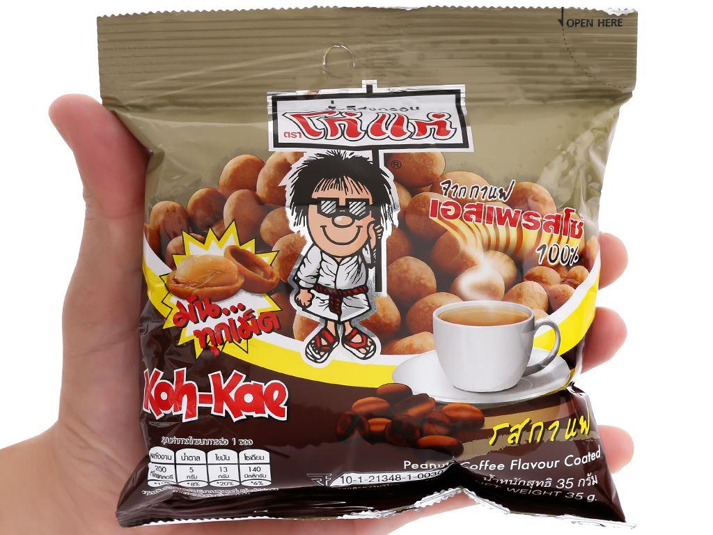 Đậu phộng vị cà phê Koh-Kae gói 35g 4