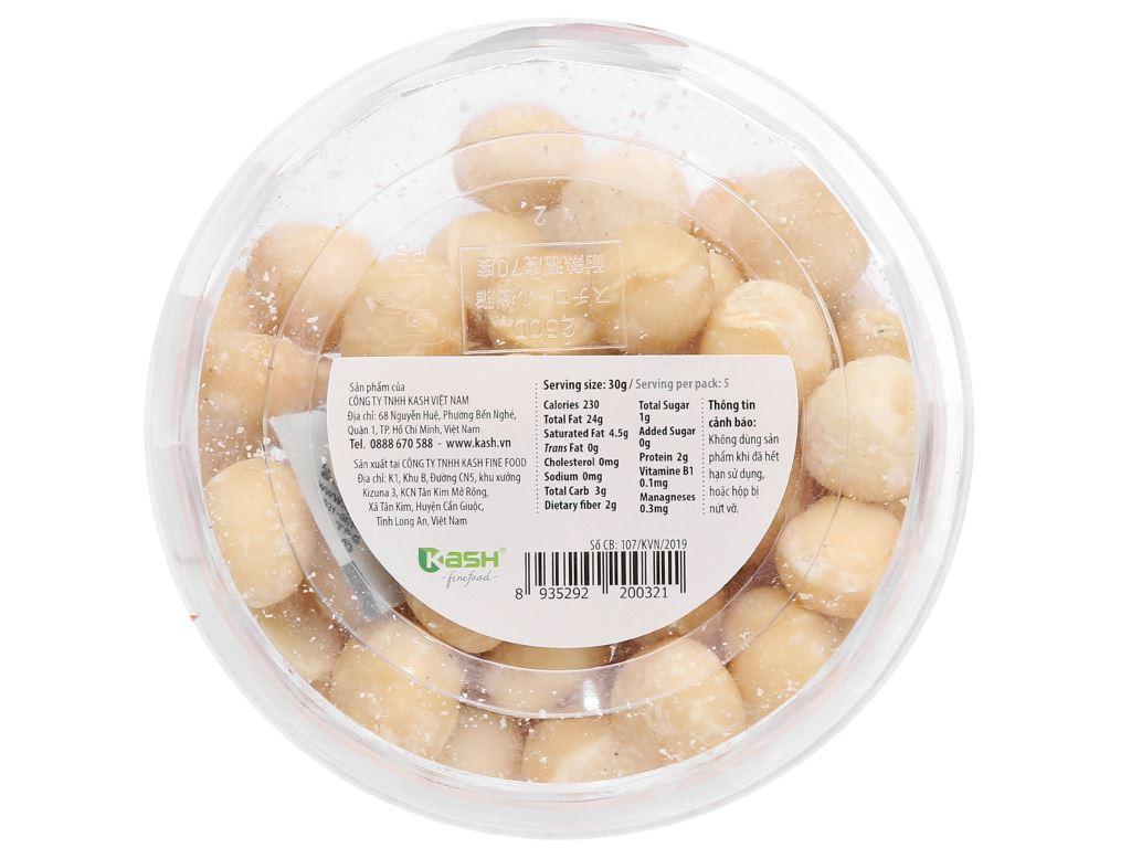 Nhân hạt mắc ca nướng Nutty hộp 150g 2