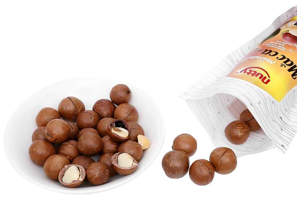 Hạt mắc ca nứt vỏ nướng Nutty túi 250g 5