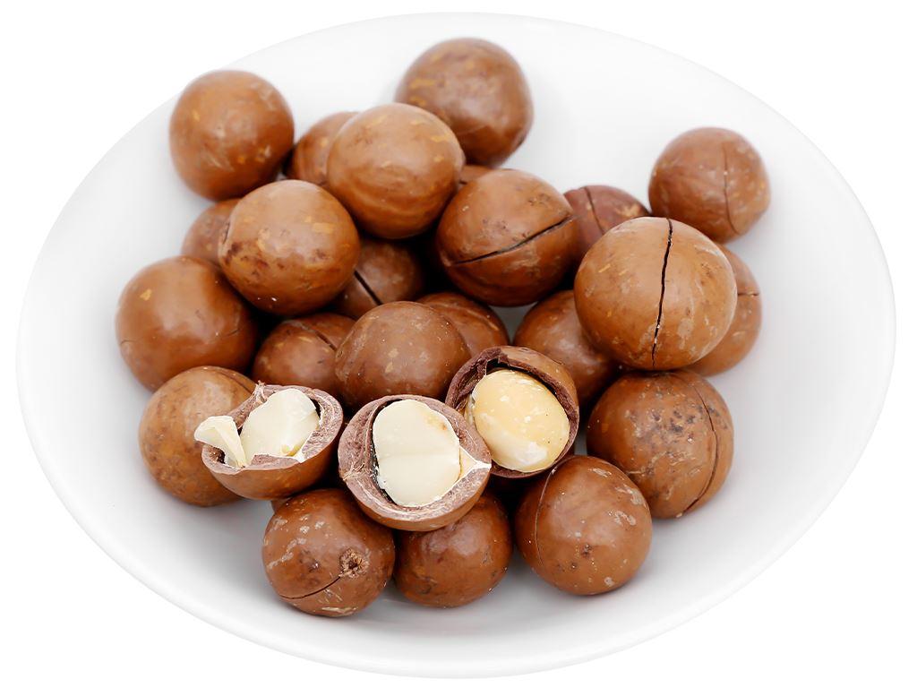 Hạt mắc ca nứt vỏ nướng Nutty túi 250g 6