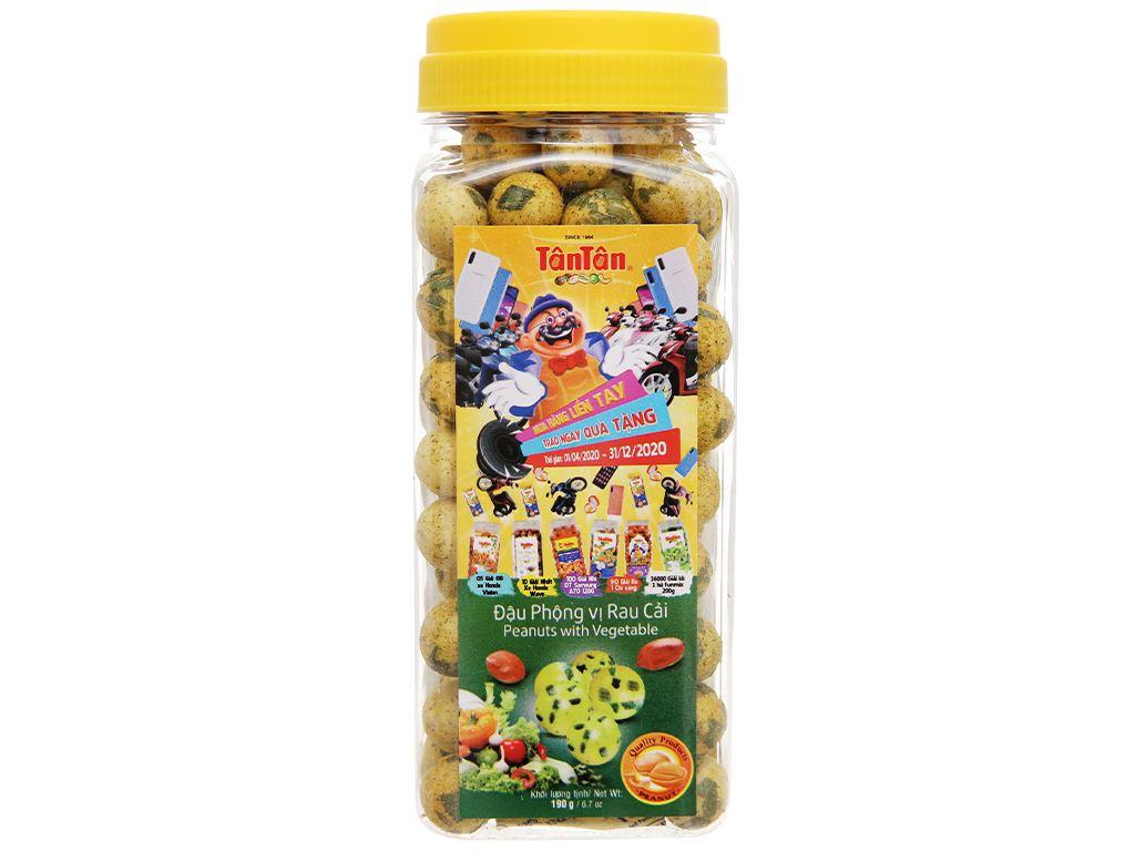 Đậu phộng vị rau cải Tân Tân hũ 190g 1