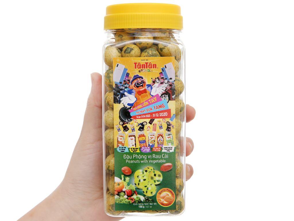 Đậu phộng vị rau cải Tân Tân hũ 190g 4