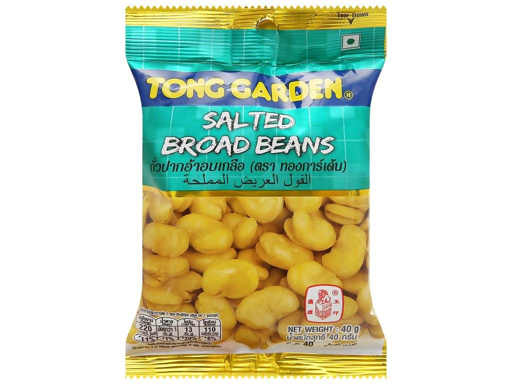 Đậu trắng rang muối Tong Garden gói 40g 1