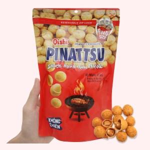 Snack nhân đậu phộng vị mực cay Pinattsu Oishi gói 200g