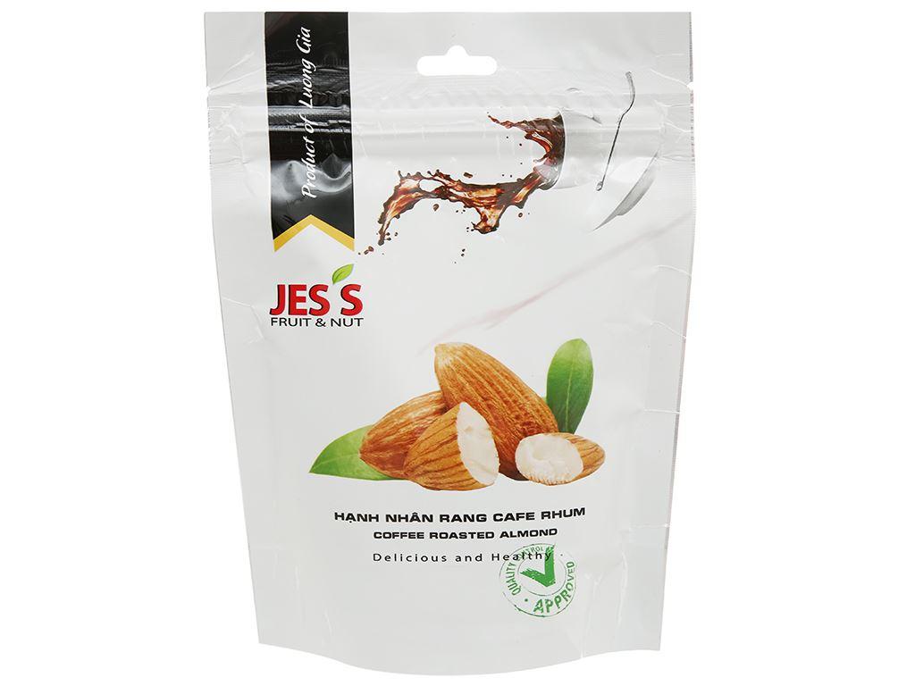 Hạt hạnh nhân rang cà phê Jes's gói 150g 1