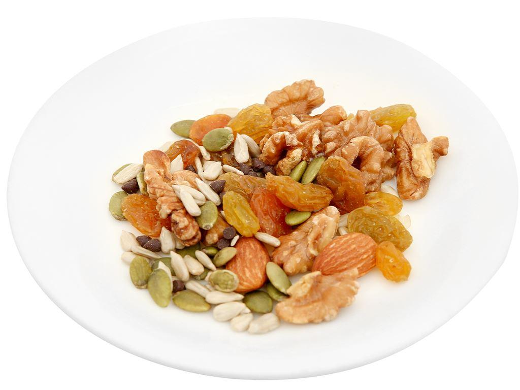 Hỗn hợp hạt vị socola Nutty Trailmix hũ 220g 6