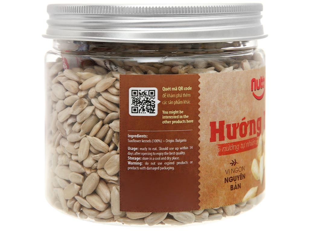 Hướng dương nướng tự nhiên Nutty hũ 220g 3