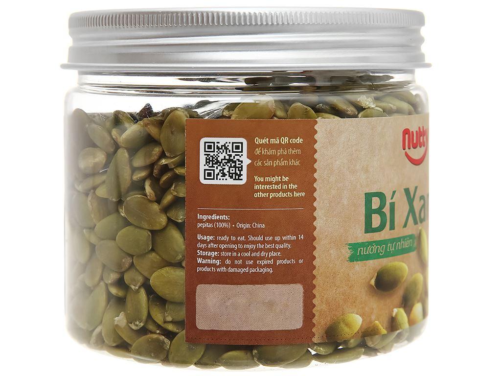 Bí xanh nướng tự nhiên Nutty hũ 220g 3
