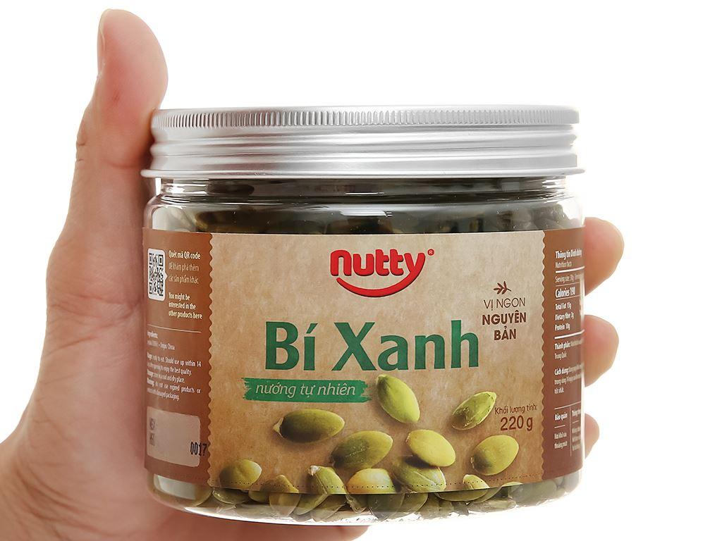 Bí xanh nướng tự nhiên Nutty hũ 220g 5