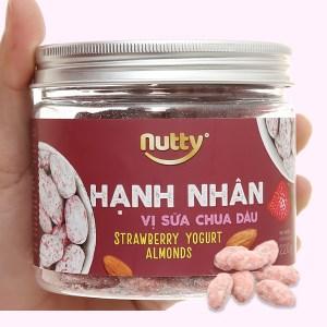 Hạnh nhân vị sữa chua dâu Nutty hũ 220g