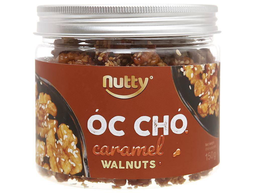 Óc chó vị caramel Nutty hũ 150g 1