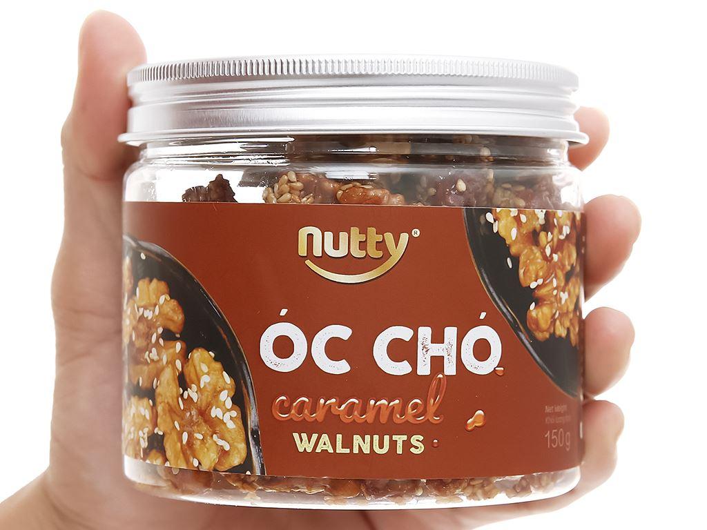 Óc chó vị caramel Nutty hũ 150g 4