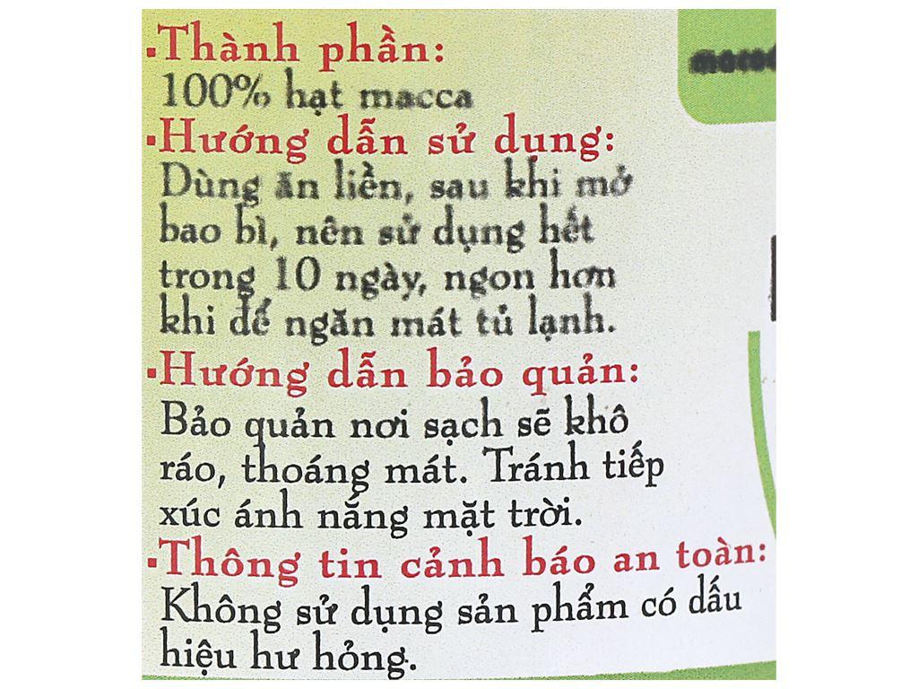 Hạt mắc ca Thành Việt hũ 200g 3