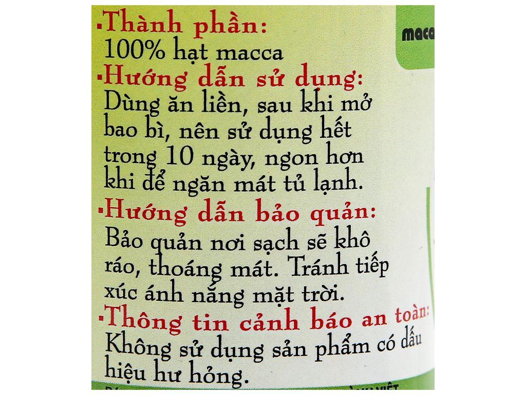 Hạt mắc ca Thành Việt hũ 350g 4