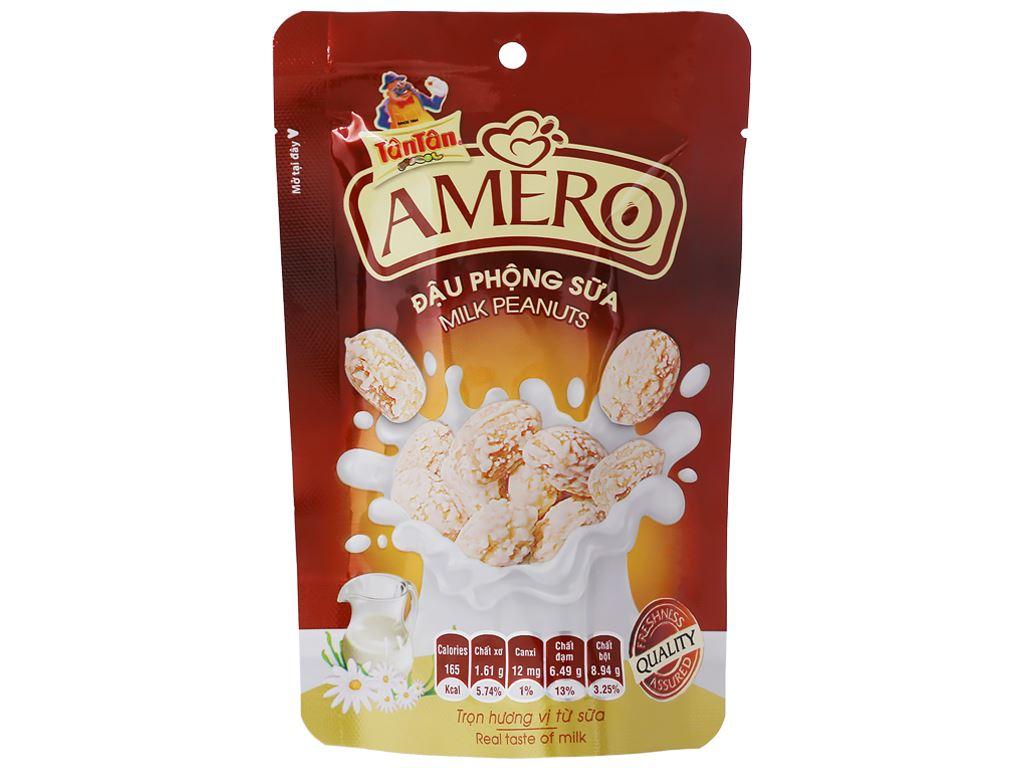 Đậu phộng sữa Amero Tân Tân gói 40g 1