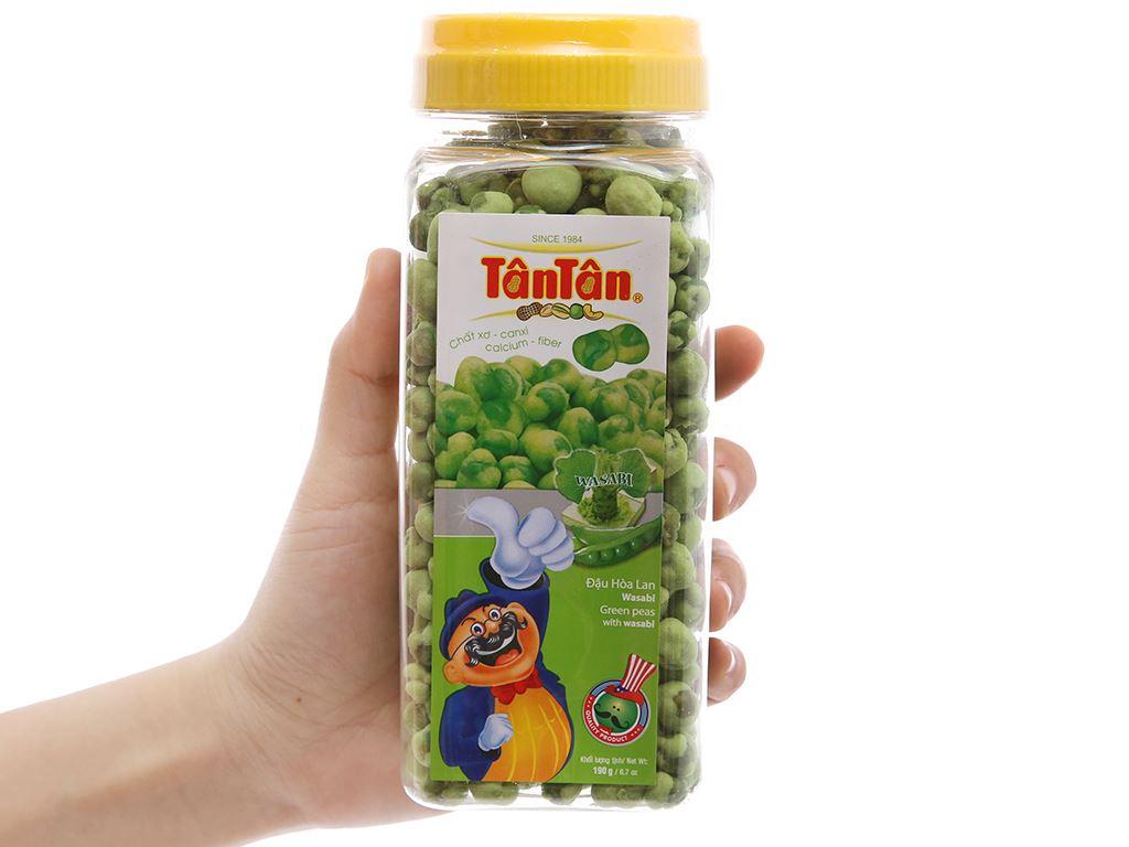 Đậu Hà Lan wasabi Tân Tân hũ 190g 3